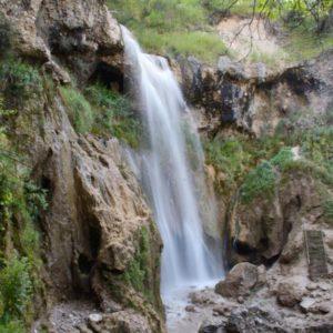 waterfall kyrgyzstan