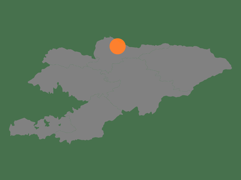 map of kyrgyzstan transaprent