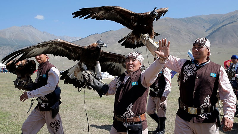 nomads of kyrgyzstan eagles