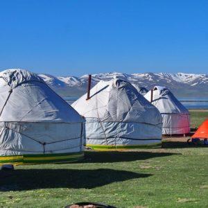 Son kol lake kyrgyzstane