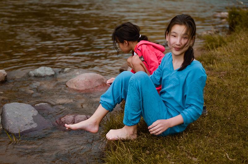 kids of kyrgyzstan